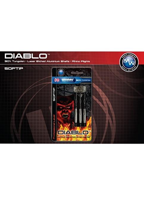 Winmau Diablo %90 Tungsten Plastik Uçlu Dart-20 Gram Renkli